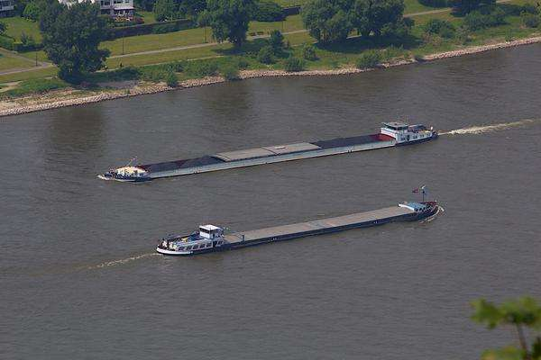 Air bubbles could keep rivers open for shipping