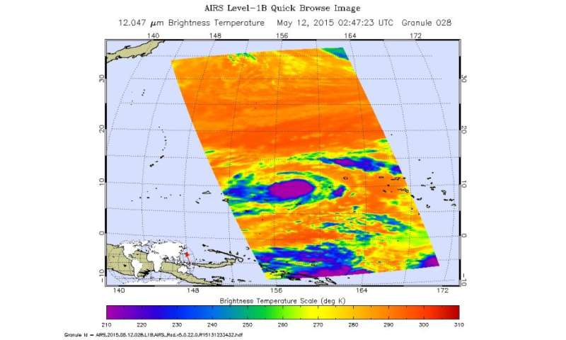 All NASA eyes on Tropical Storm Dolphin