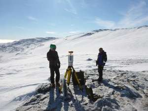 Ancient snow patches melting at record speed