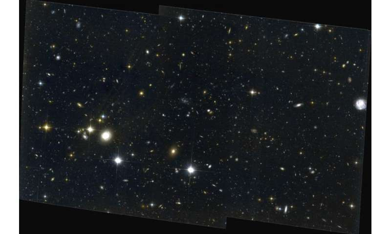 Astronomers find new details about star formation in ancient galaxy protoclusters