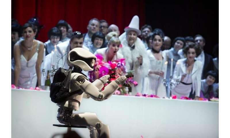 Autonomous robot Myon joins the cast at a Berlin opera