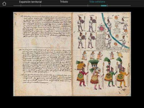 Aztec app brings historic Mexico codex into the digital age (Update)