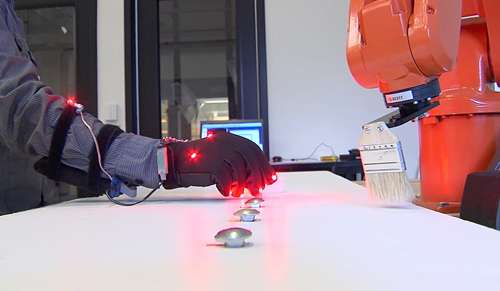 """Biomechatronics lab develops a language of touch that can be """"felt"""" by computers and humans alike"""