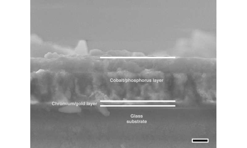 Cobalt film a clean-fuel find