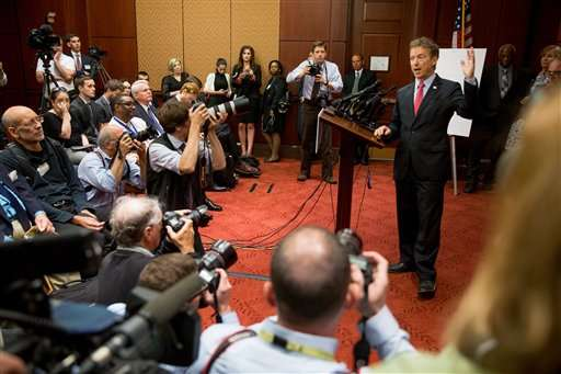 Congress sends NSA phone-records bill to president