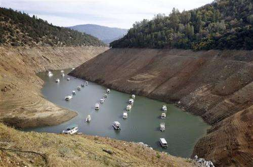 Drought: California taking sweeping steps to conserve water (Update)