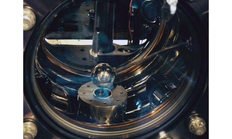 Experiment attempts to snare a dark energy 'chameleon'