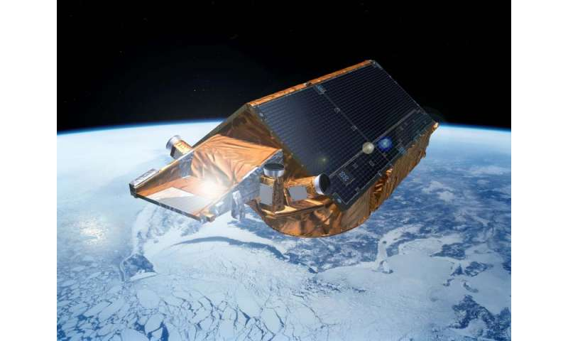 Fast access to CryoSat's Arctic ice measurements now available