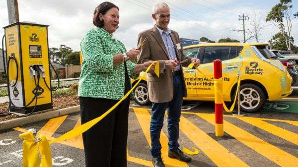 Fast charging stations electrify south-west commute