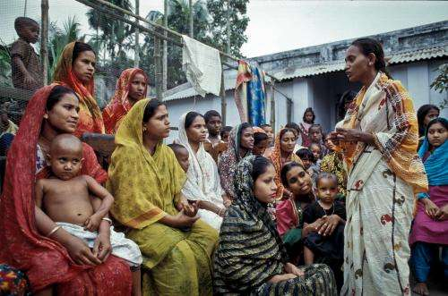 Fathers and microfinance empower women