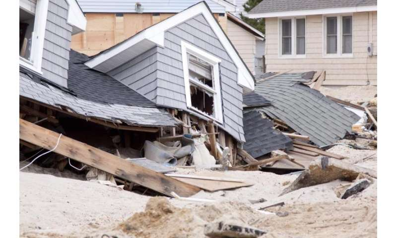 Flood risk on rise for New York City and New Jersey coast, study finds