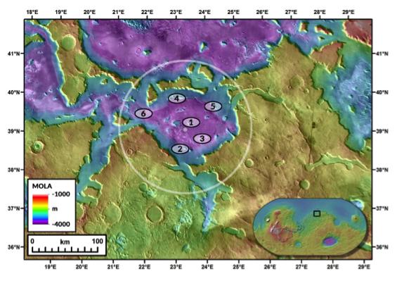 Geologists help NASA plan for human exploration of Mars