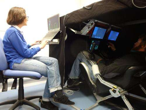 Halley research station hosts research to understand human adaptation to space flight