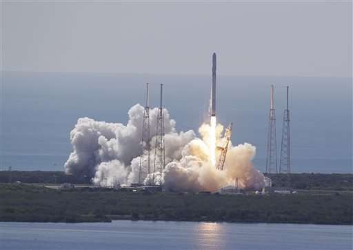 High schoolers' experiment lost again on launch failure