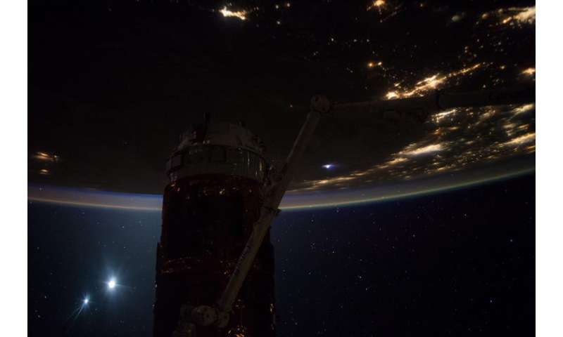 Image: Good morning from the International Space Station