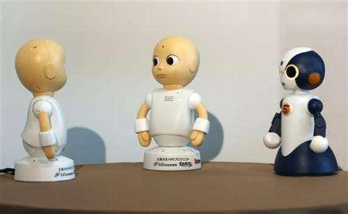 Japan to sell talking robots that won't try to make sense (Update)
