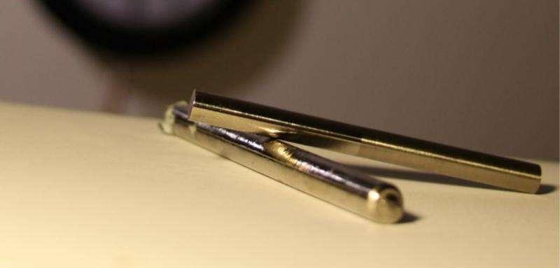 Jumbled arrangement of atoms allows bulk metallic glasses to flow like honey