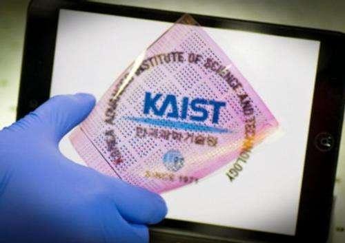 KAIST develops ultrathin polymer insulators key to low-power soft electronics