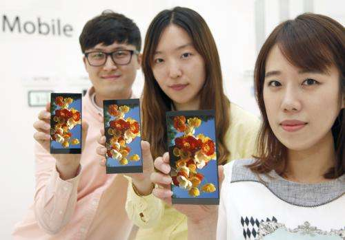 LG Display takes high jump in panel for phones