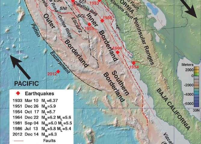 Little-known quake, tsunami hazards lurk offshore of Southern California