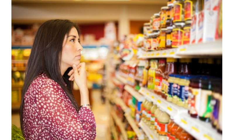 Machine vision system could help the visually impaired shop for food