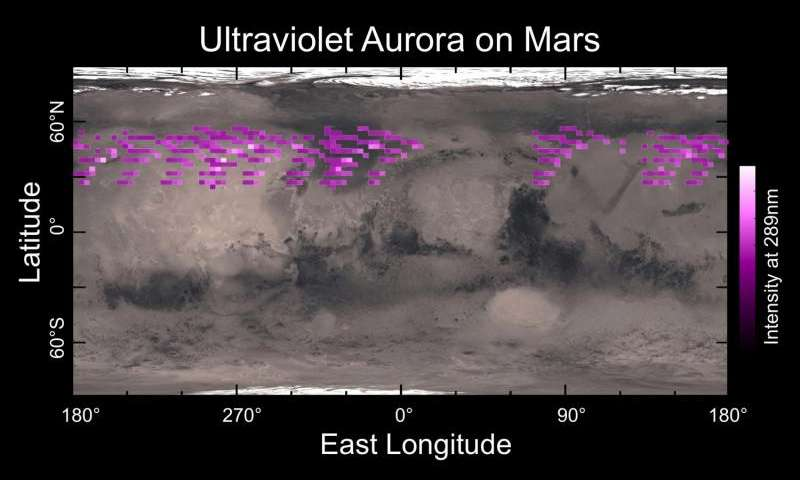 MAVEN results find Mars behaving like a rock star