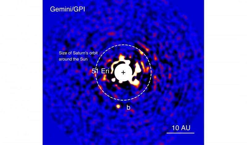 Methane, water enshroud nearby Jupiter-like exoplanet