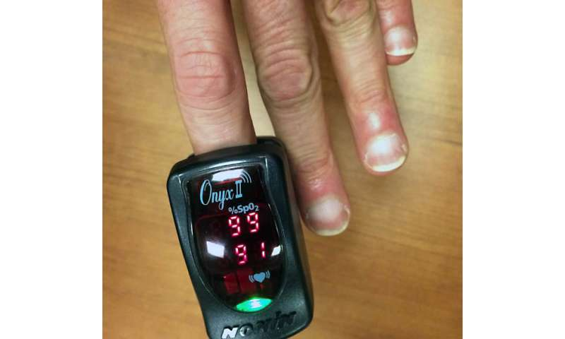 MoveSense app makes cellphone an oxygen saturation monitor for heart and lung patients