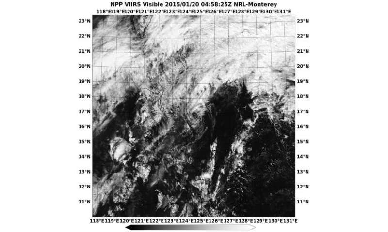 NASA-NOAA's Suomi NPP sees remnants of Mekkhala