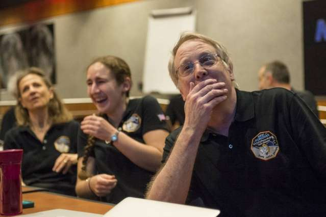 New Horizons mission co-investigator on craft's closest view of Pluto