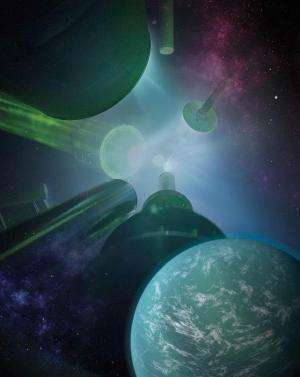 New research re-creates planet formation, super-earths and giant planets in the laboratory