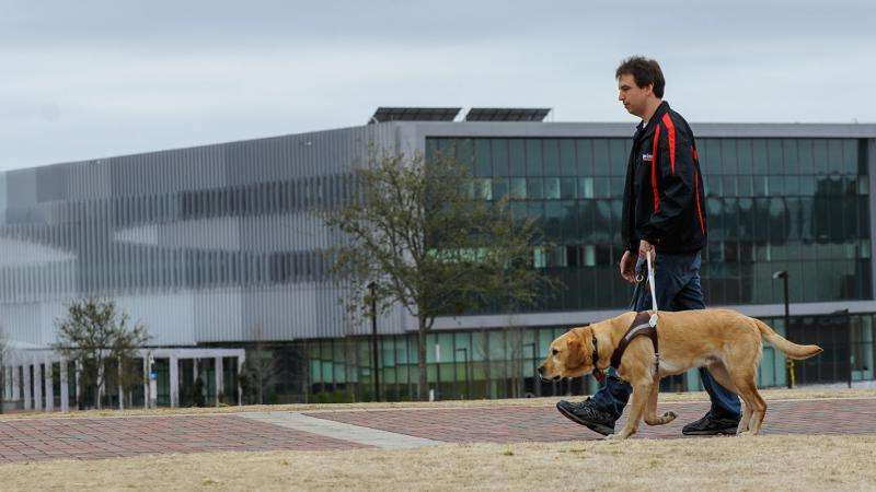 New tech helps handlers monitor health, well-being of guide dogs