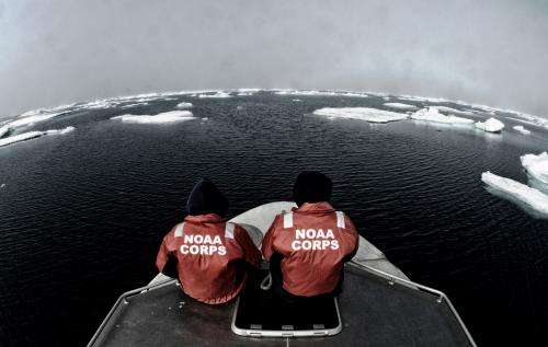 NOAA plans increased 2015 Arctic nautical charting operations