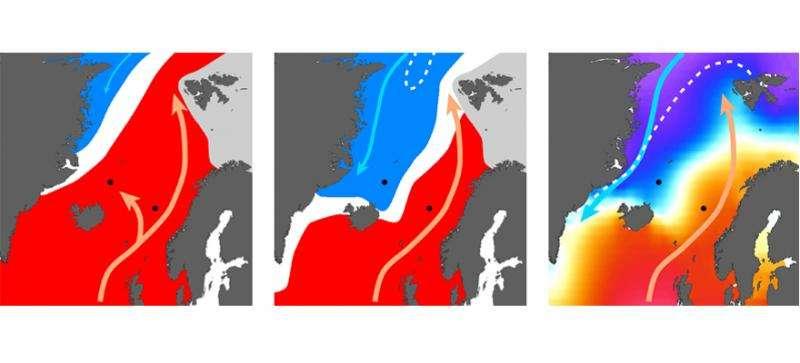 Nordic seas cooled 500,000 years before global oceans