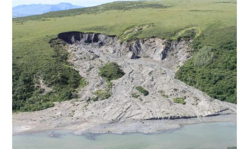 North Slope permafrost thawing sooner than expected