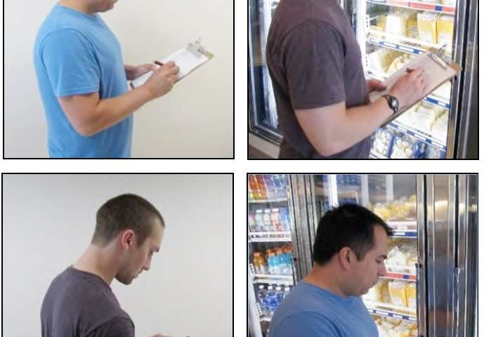 Phone app allows researchers to conduct concealed food safety observations