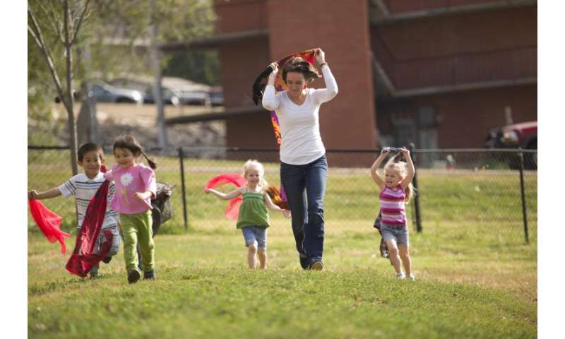 Physical activity scientist suggests strategies to keep children on the move