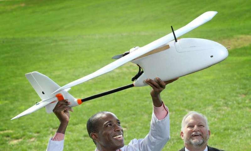 Proof-of-concept study shows successful transport of blood samples with small drones