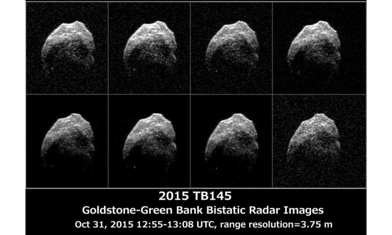 Radar images provide details on Halloween asteroid