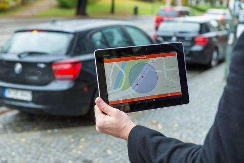 Radar sensors support parking management