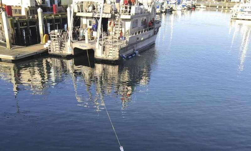 Radiation safety for sunken-ship archaeology