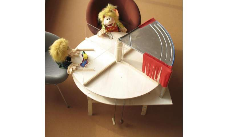 Research with thieving puppets demonstrates toddlers' caring sides