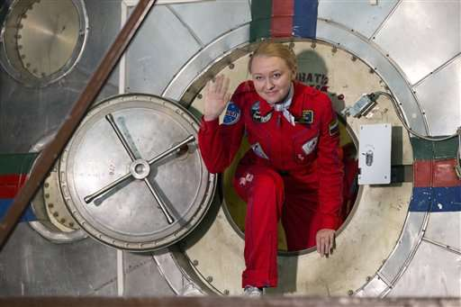 Russian women finish test on space flight confinement