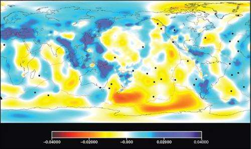 Seismic study aims to map Earth's interior in 3-D