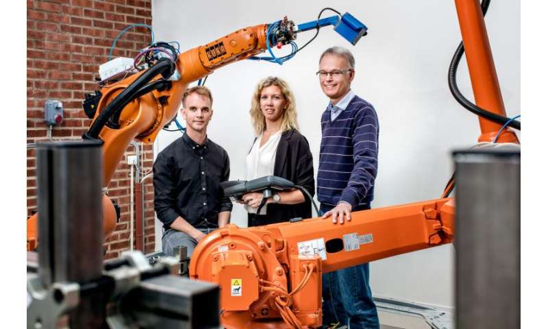 Smooth robot movements reduce energy consumption by up to 40 percent