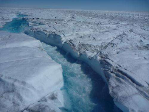 Study shows how meltwater on Greenland's ice sheet contribute to rising sea levels