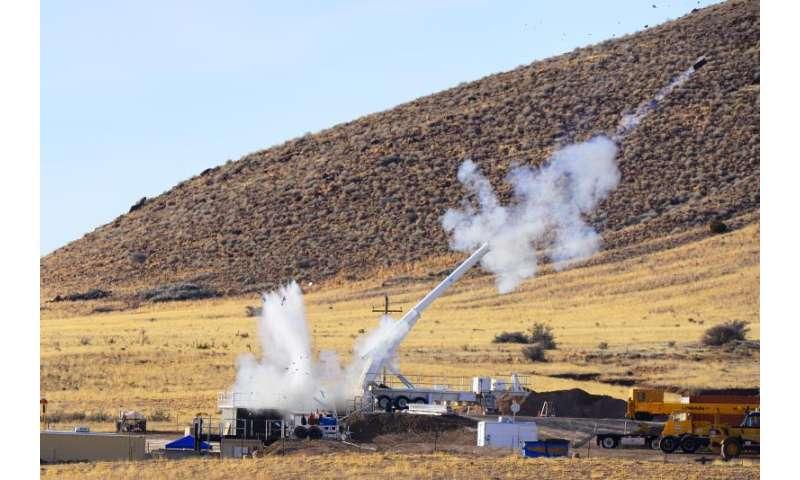 Tests with Sandia's Davis gun aid B61-12 life extension effort