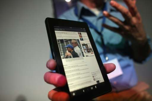The Amazon Fire tablet will launch in China