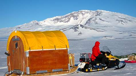 The geography of Antarctica's underside