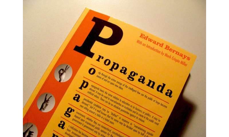 The manipulation of the American mind—Edward Bernays and the birth of public relations